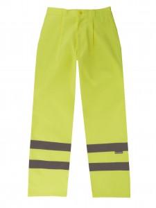 Pantalón amarillo 2 Cintas reflectantes