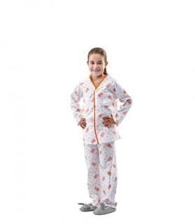 Pijama enfermo niño estampado ositos