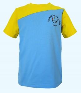 Camiseta de deporte, manga corta, F. San Juan de Ávila